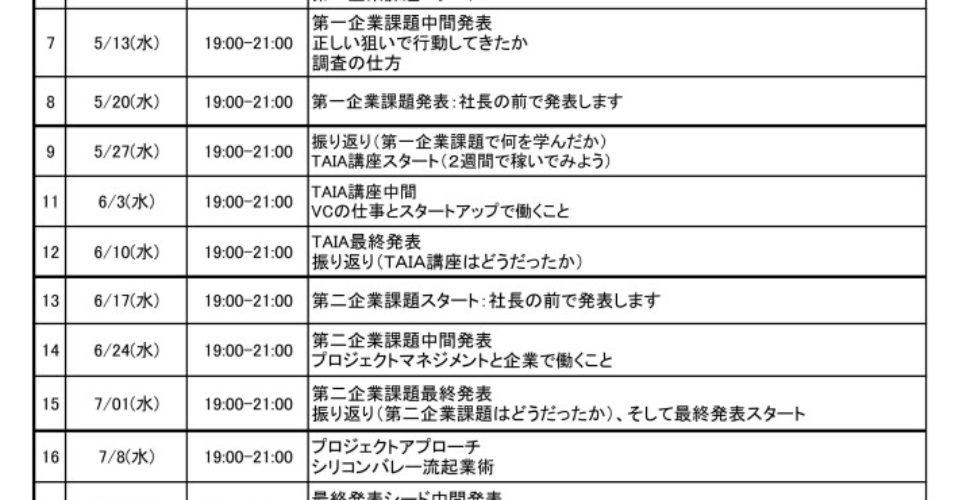 2015講座スケジュール