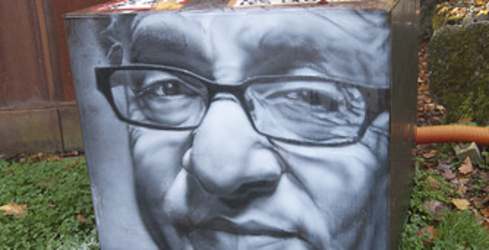 Raymond C. Kurzweil, painted portrait _DDC0017